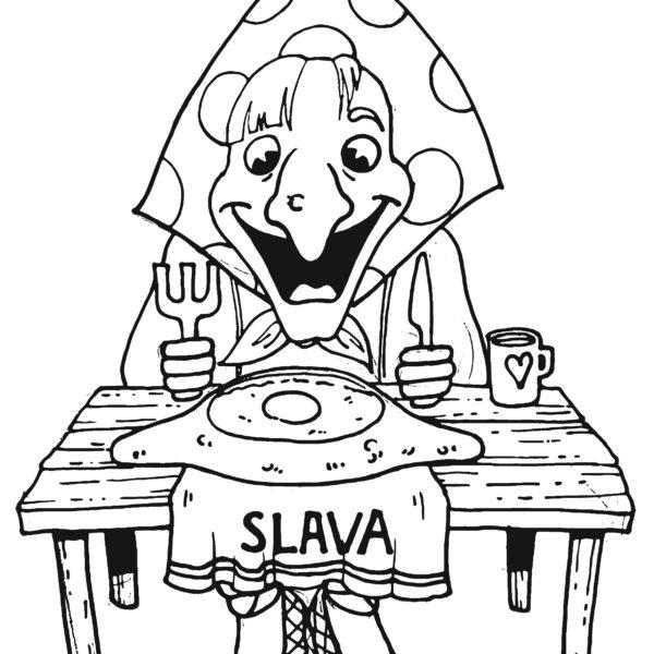 Slava restaurant